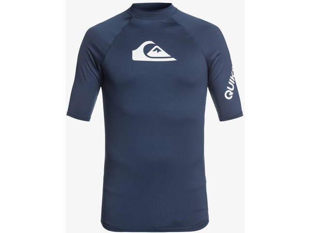 Quiksilver All Time SS Shirt Men, majolica blue heather